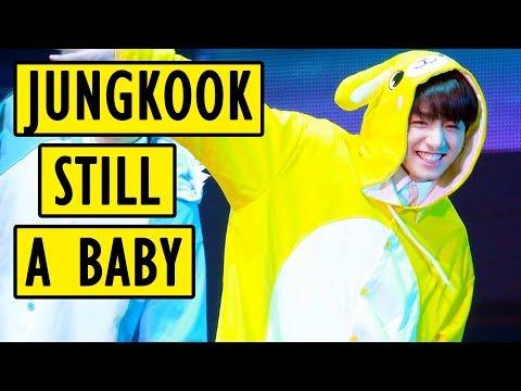 BTS Jungkook is still a baby