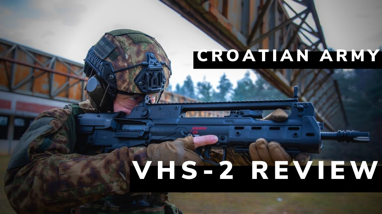 Download CRO OPS 8 | Ekskluzivni test: VHS-2 puška HV | Croatian Army VHS-2 assault rifle test