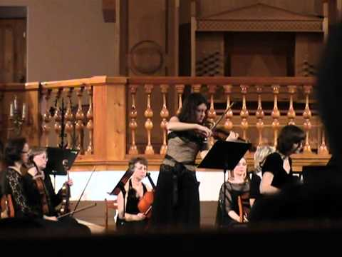 Mendelssohn Double concerto in d minor (2) Julia Igonina