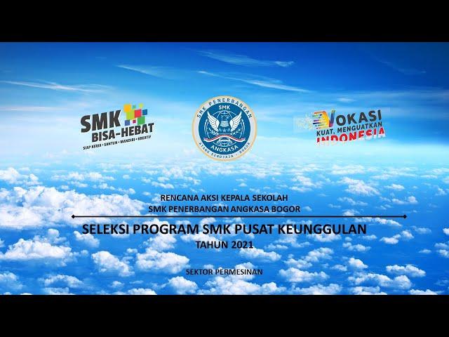 SMK Unggulan   SMK Penerbangan Angkasa Bogor   Lanud Atang Sendjaja