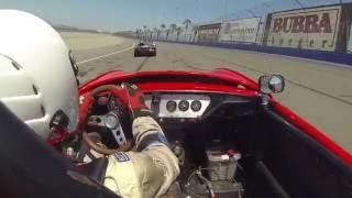 Triumph Spitfire VS Porsche 914 epic battle Auto Club Speedway