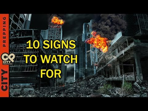 10 signs SHTF is about to happen