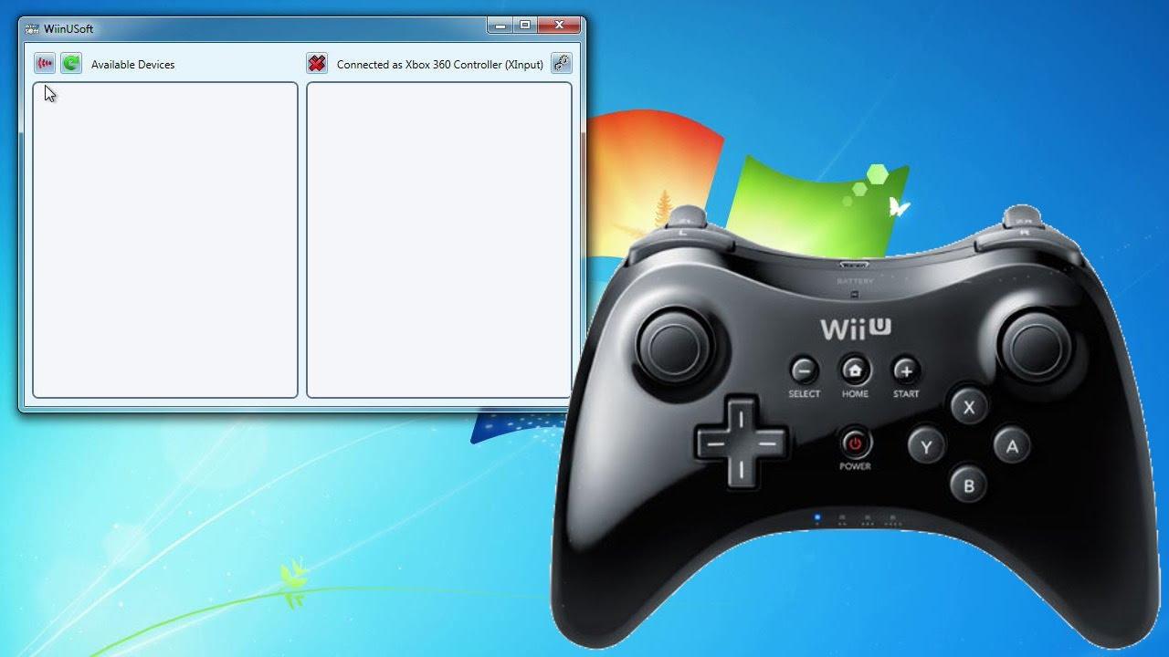 Wii U Pro Controller am Computer benutzen (als XBox Gamepad ...