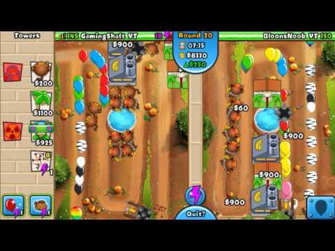 Bloons TD Battles - How to Defend Round 22 Zomg/BFB rush 😉