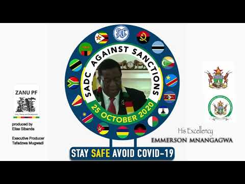 His Excellency President E.D Mnangagwa against Zimbabwe Sanctions