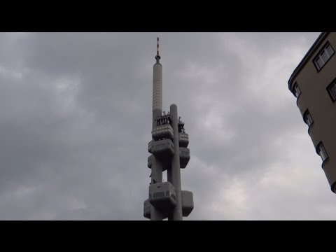 Prague, Czech Republic - Žižkov Television Tower HD (2013)