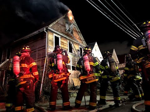 FDNY: 2 Alarm Woodside Queens Fire