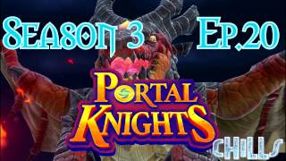 "Portal Knights S3 Ep. 20 ""Goin to the Big Boss! Eternal Darkness Quest!!"" PC Gameplay Early Access"