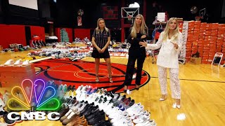3 SISTERS OWN 6,000 SNEAKERS | Secret Lives Of The Super Rich