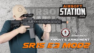 G&G Knights Armament SR15 E3 MOD 2 - You NEED to Check This One Out! - Airsoft Station Review