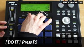 MPC 1000: Auto Slicing Samples (Short Version)