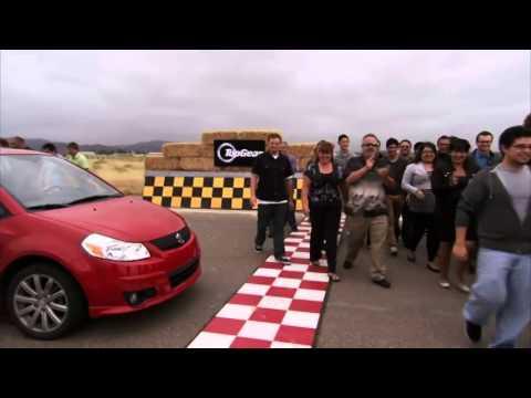 Arlene Tur  & lap   Big Star Small Car   Top Gear USA   Series 2