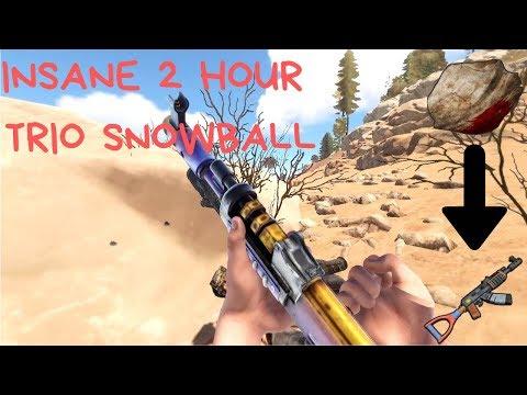 INSANE TRIO SNOWBALL WITH NO BPS! | RUST | OT Tonza thumbnail