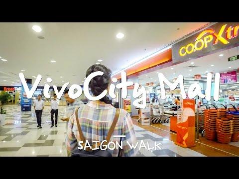 Saigon Walk: VivoCity Shopping Mall, District 7, Ho Chi Minh City, Vietnam [4K]