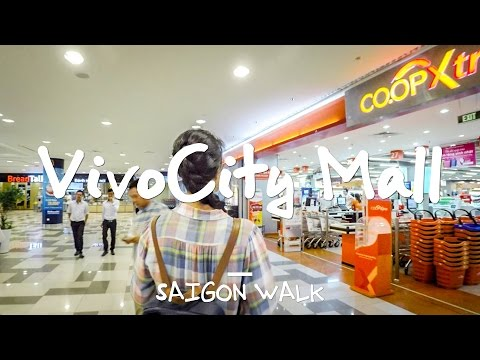 Saigon Walk: VivoCity Shopping Mall, District 7, Ho Chi Minh City, Vietnam [4K]