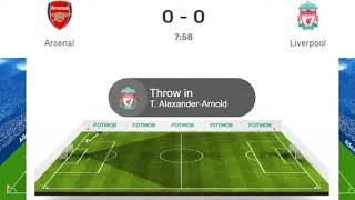 Arsenal vs Liverpool Live, Premier League Liverpool vs Arsenal Live Streaming