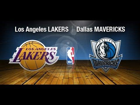 Lakers Vs Mavericks Live 2 10 2018