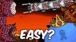 Terraria Top 5 Easiest Bosses | Expert | Exploits, Tips & Tricks! | PC | Console | Mobile