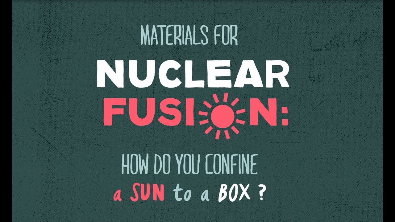 Materials for nuclear fusion: how do you confine a sun to a