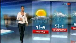 Repeat youtube video Leather pants, heels from Stephanie Meißner in Lederhose at Wetter Sachsen 12.12.2012