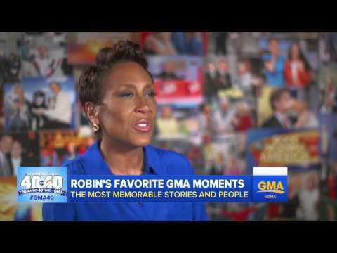 GMA 40: Robin Roberts' Favorite Moments