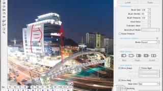 [포토샵혁명방송]야경 사진의 터칭을 그린채널과 스크린을 적용한 모습으로 완성하기