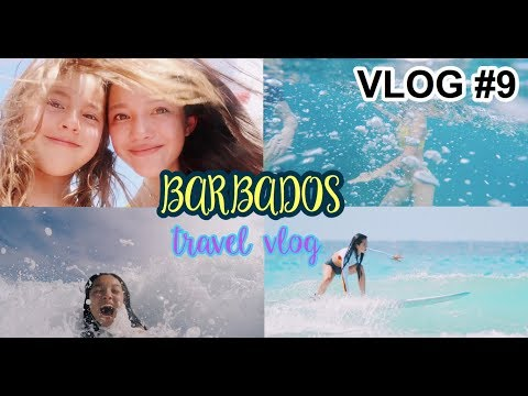 SWALLOWED BY A WAVE?! SEA TURTLES, SURFING, AND MORE.. (Barbados Vlog) | Lily Chee