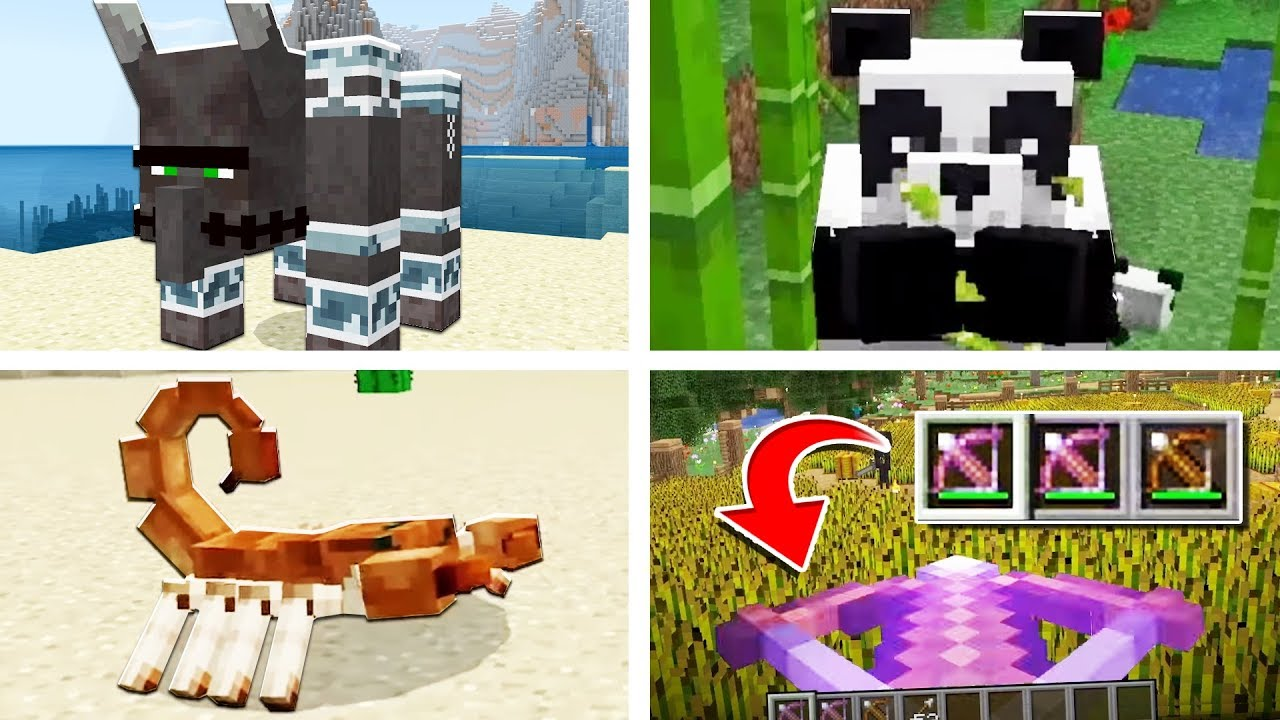 Everything New In Minecraft 1 14 Crossbows Pandas Pillager
