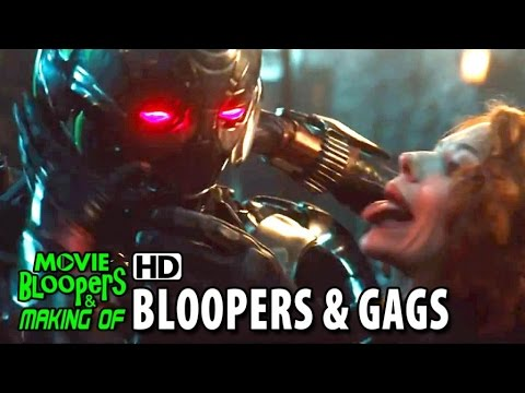 Avengers: Age of Ultron (2015) Bloopers & Gag Reel #2