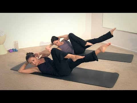 Pilates 20 Minute Flowing Mat Class with Tiziana Trovati WORKOUT