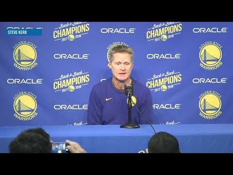 Steve Kerr comments on Stephen Curry's car accident