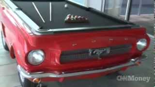"The Making Of A Car Pool Table - Cnn Money's ""life At The Top"""