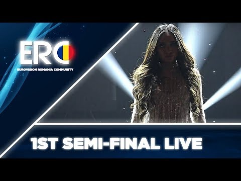 Bella Santiago - Army Of Love - LIVE - 1st Semi-Final - Selecția Națională 2019