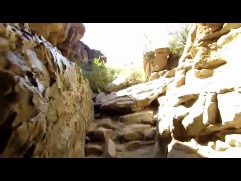 South Mountain Arizona - Hidden Valley Trail 2016 by Dave Lessard
