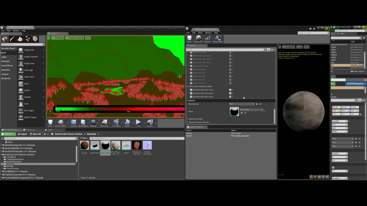Free] Auto Terrain Cover V3 - Release - Unreal Engine Forums