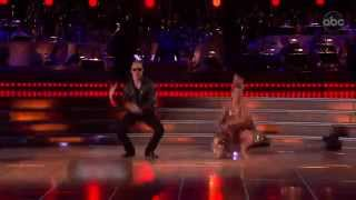 Shawn Johnson and Derek Hough Knight Rider Bhangra