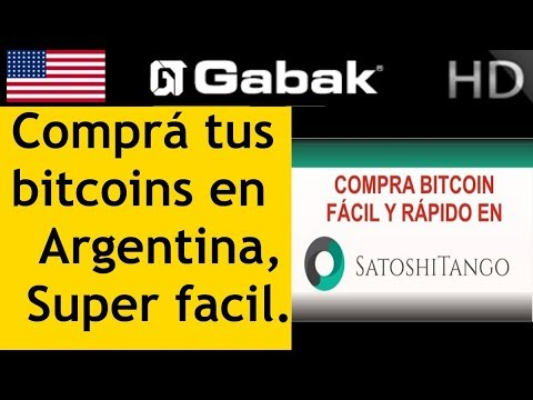 Como Comprar Bitcoin En Argentina Con Satoshi Tango