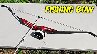 Testing Fishing Bow