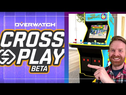 Overwatch gets Cross Play and Arcade1Up unveils The Simpsons Cab from Mr. Sujano