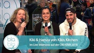 CREATIVA 2018: Kiki & Hamza von Kikis Kitchen im Interview