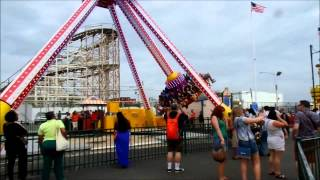 Coney Island: Luna 360 / Off Ride POV / July 19, 2014
