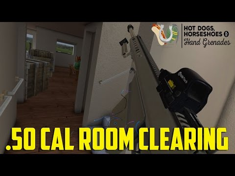 H3VR - .50cal Room Clearing