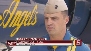 cpt jeff kuss killed in blue angels plane crash