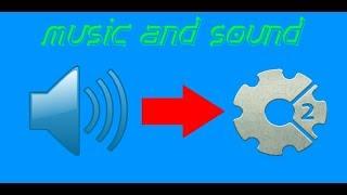 уроки по construct 2 (музыка и звуки)