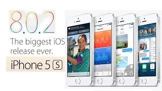iOS 8.0.2 Экспресс обзор. Тормозит или нет iOS 8.0.2 на iPhone 5S ?(, 2014-09-28T20:23:56.000Z)