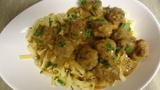 How To Make Swedish Meatballs