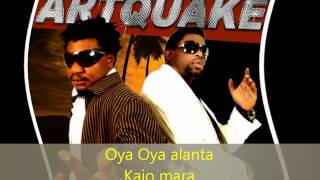 Artquake - Alanta (lyrics)