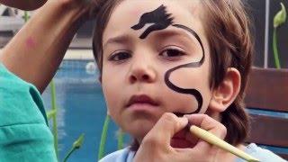 Maquillajes infantiles - Dragón by Elephantina