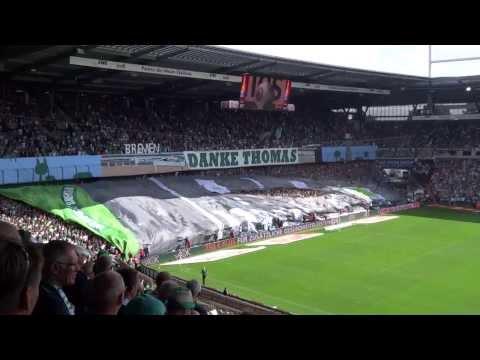 SV Werder Bremen - Danke Thomas Schaaf - Auf geht's Robin Dutt - Fan Choreo 130817 - HD
