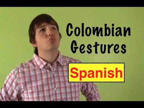 Colombian gestures